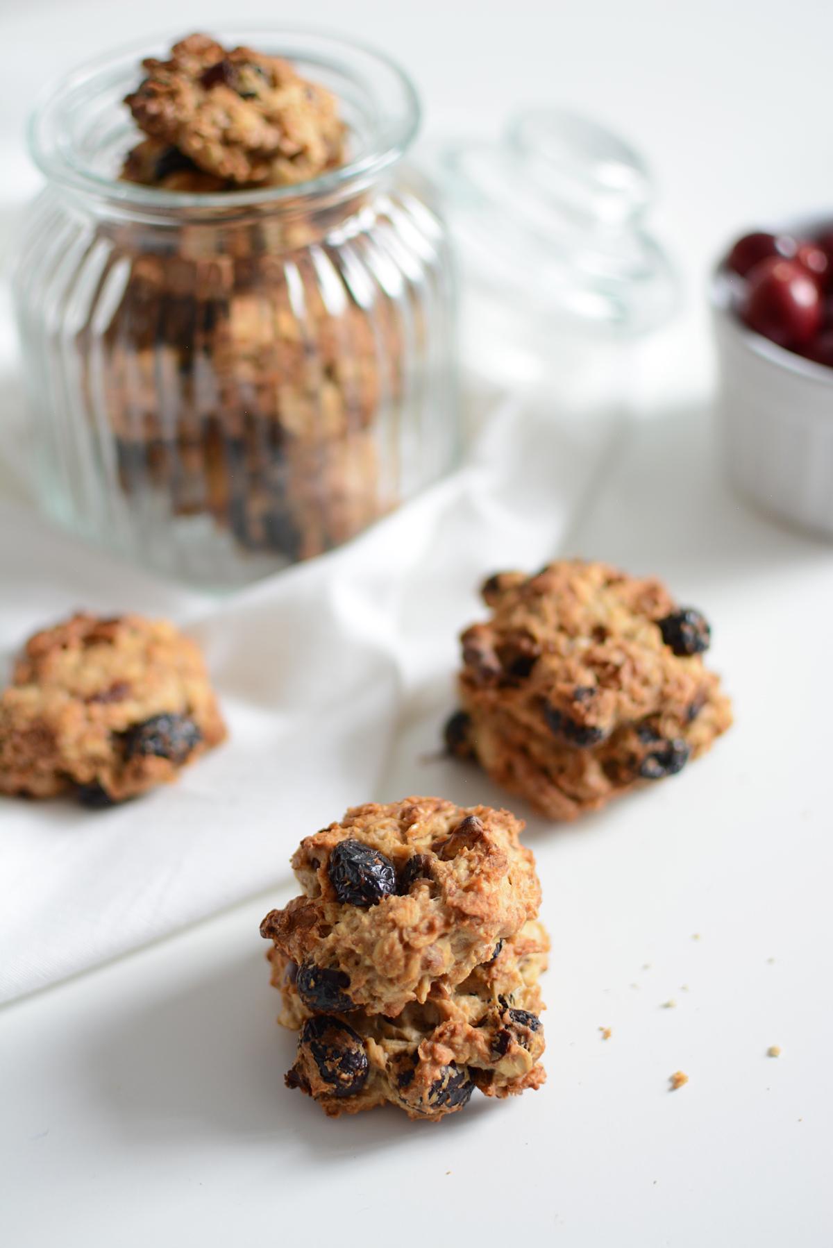 vegane Cranberry-Cookies | Pixi mit Milch
