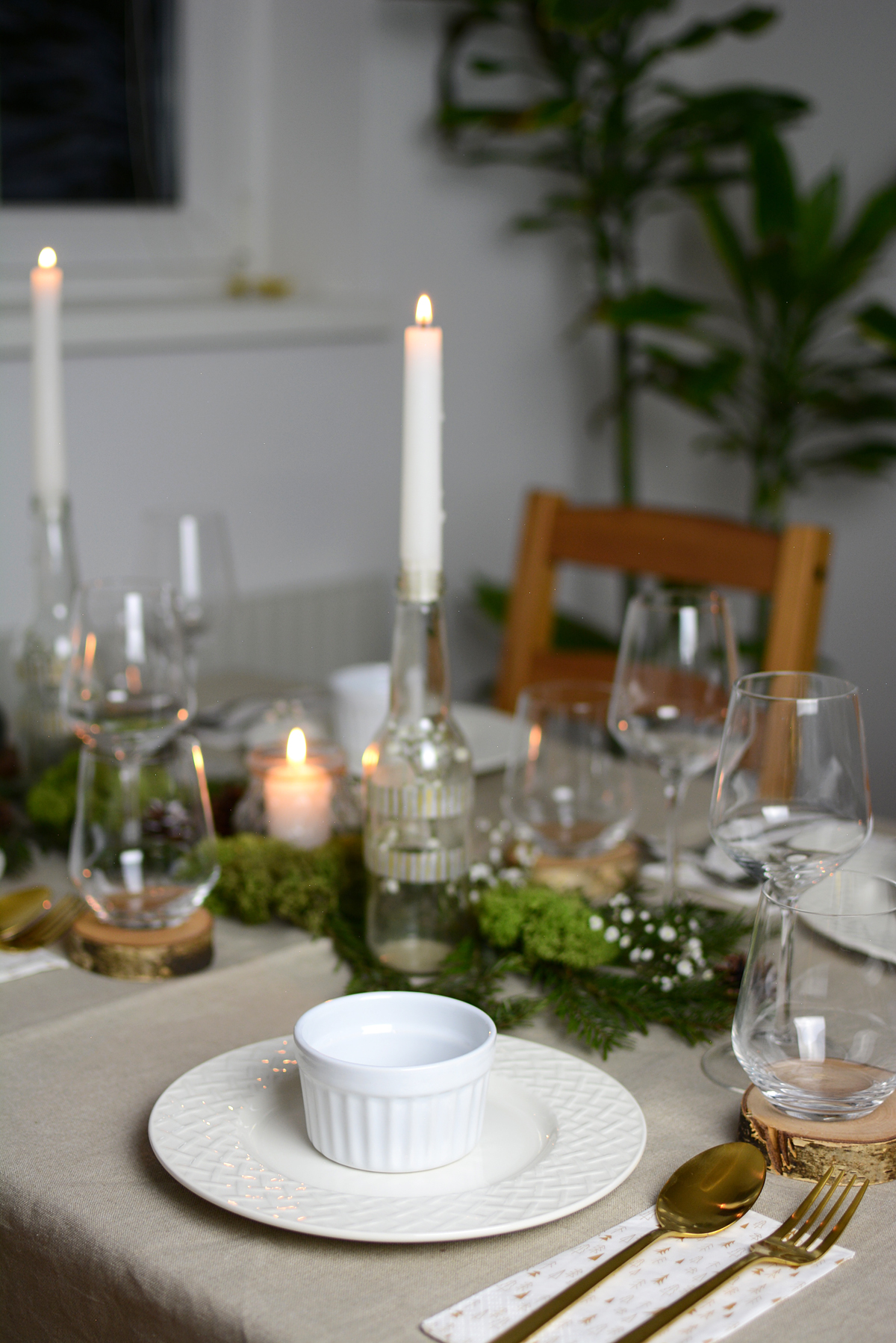 Christmas Table Decoration | Pixi mit Milch