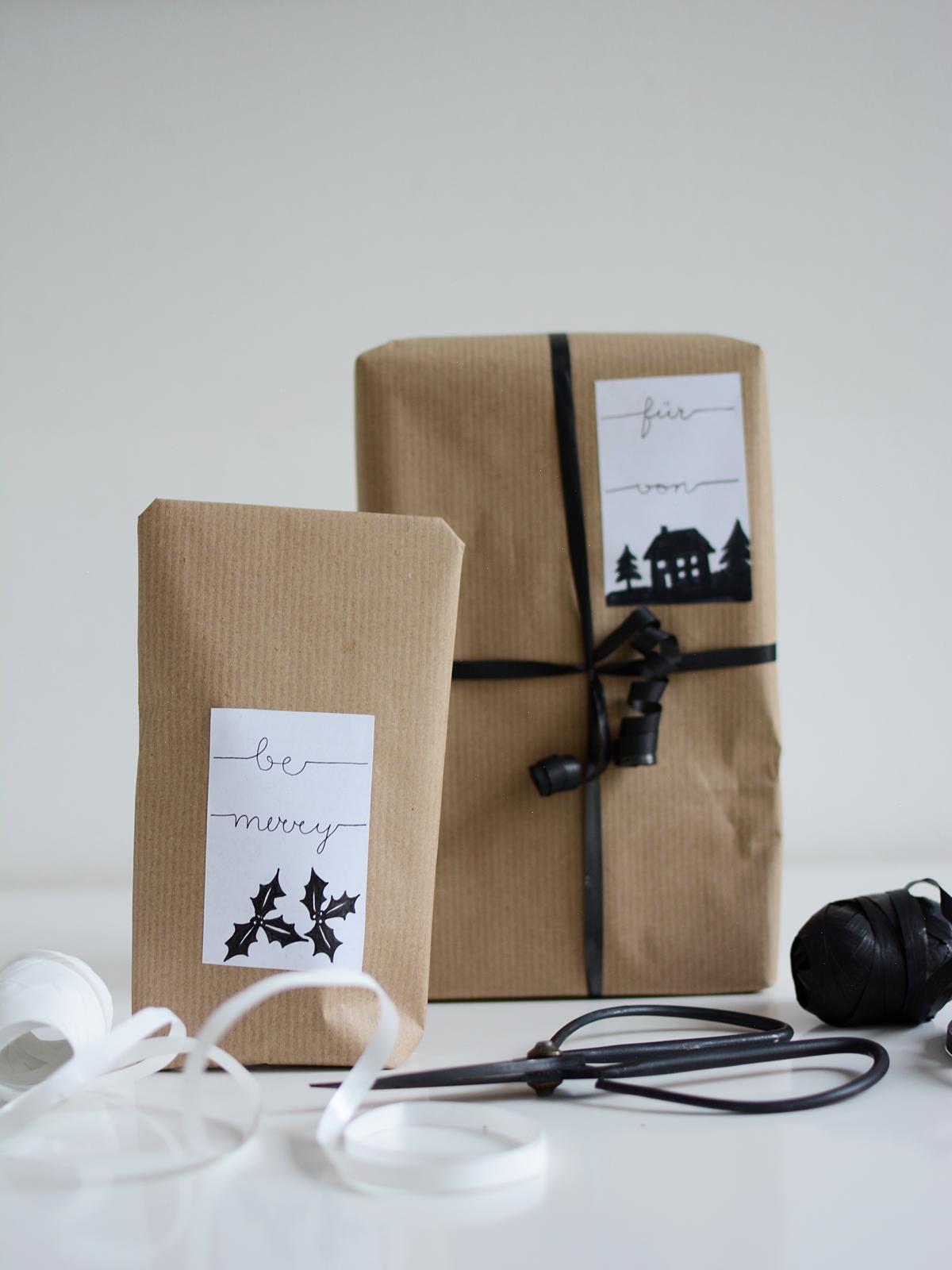 DIY: geschenke-sticker   pixi mit milch