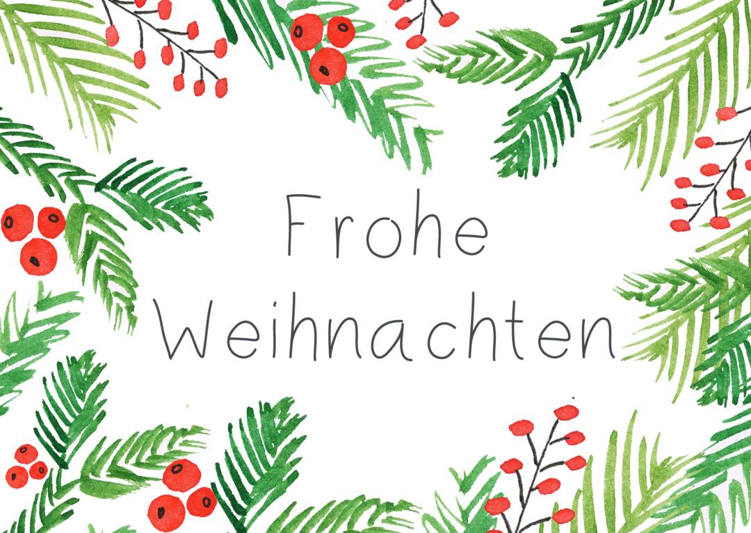DIY: Weihnachtskarten (Download) - Pixi mit Milch