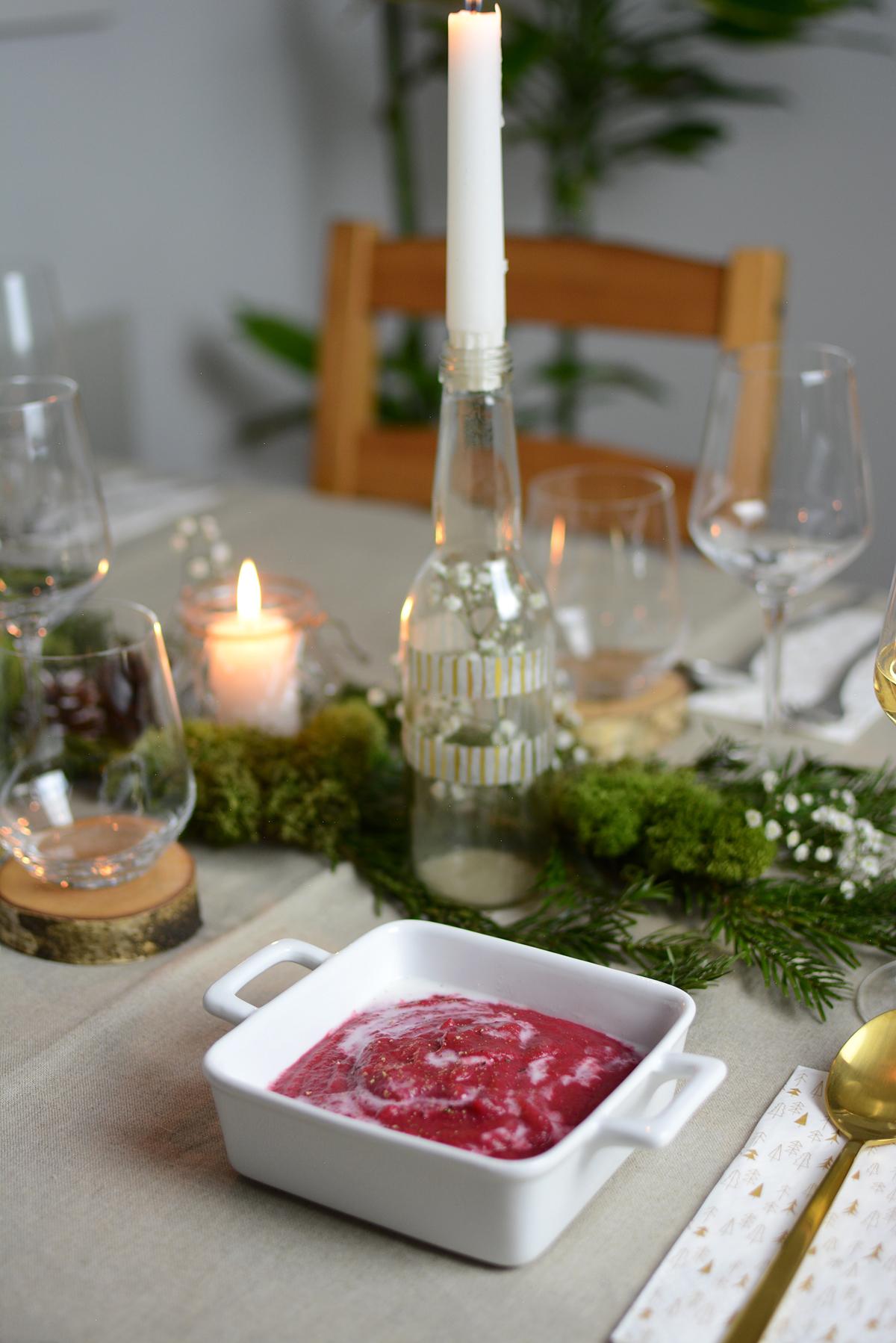 Kartoffel-Rüben-Suppe |Pixi mit Milch