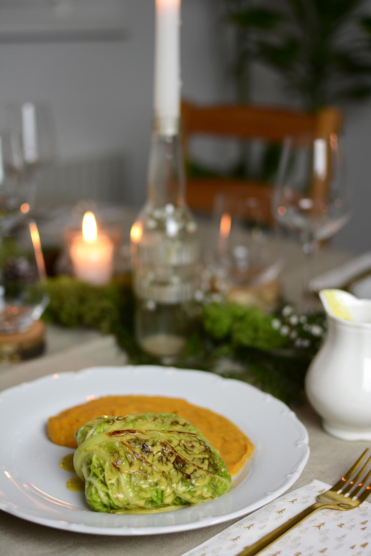 Krautwickel vegan |Pixi mit Milch