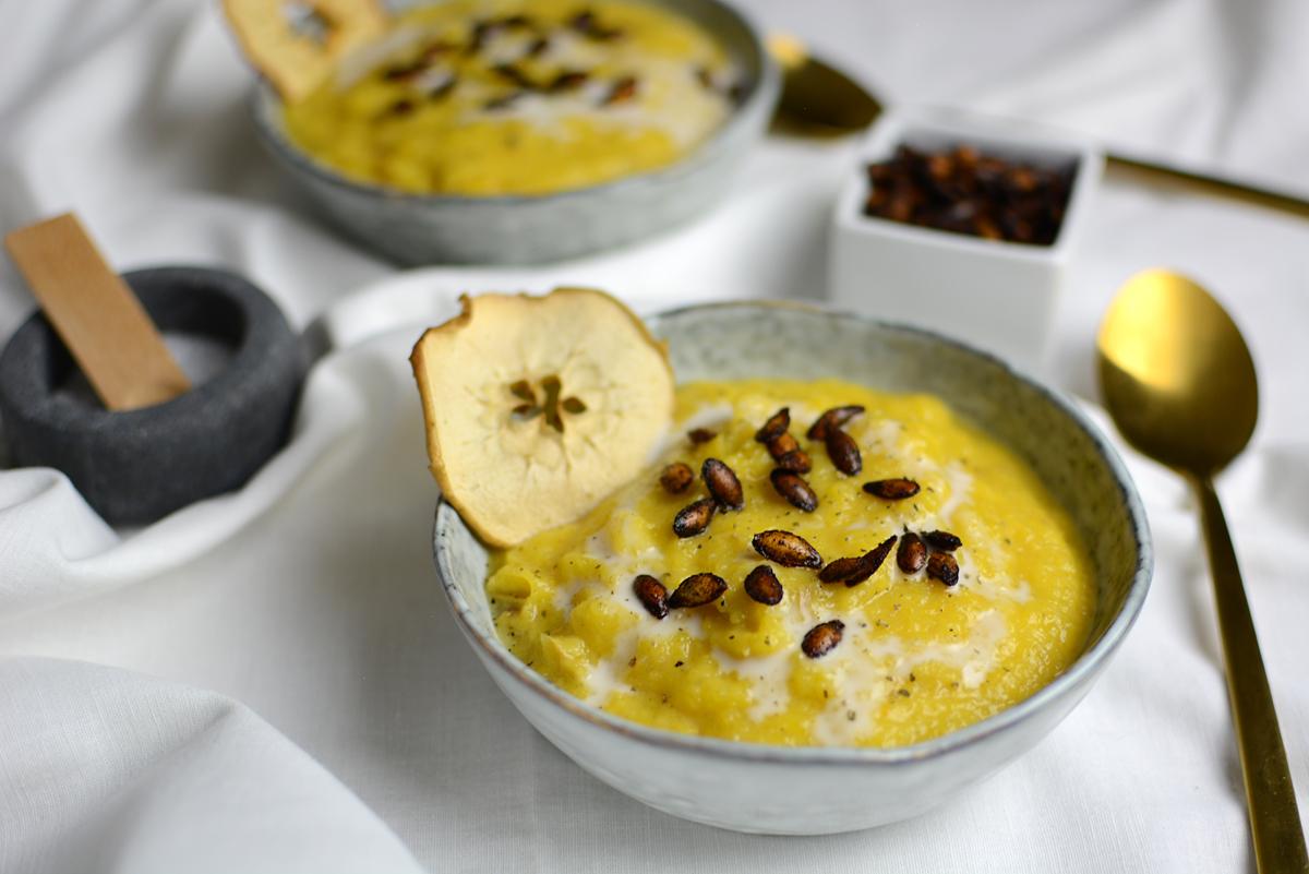 Rezept: Butternut Suppe |Pixi mit Milch