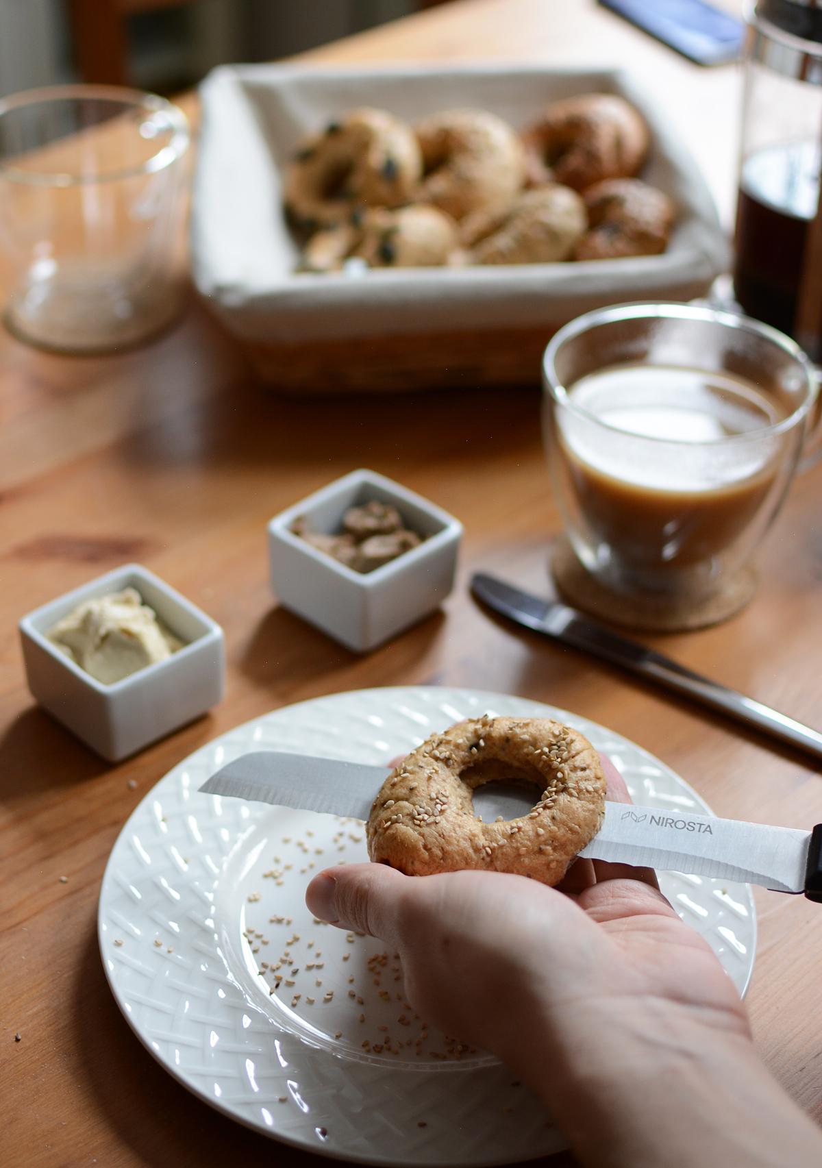 Bagelrezept | Pixi mit Milch