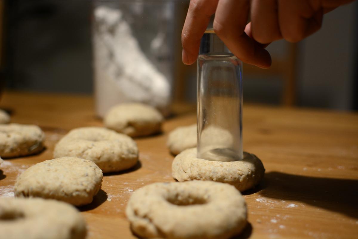 Bagels Selbermachen | Pixi mit Milch