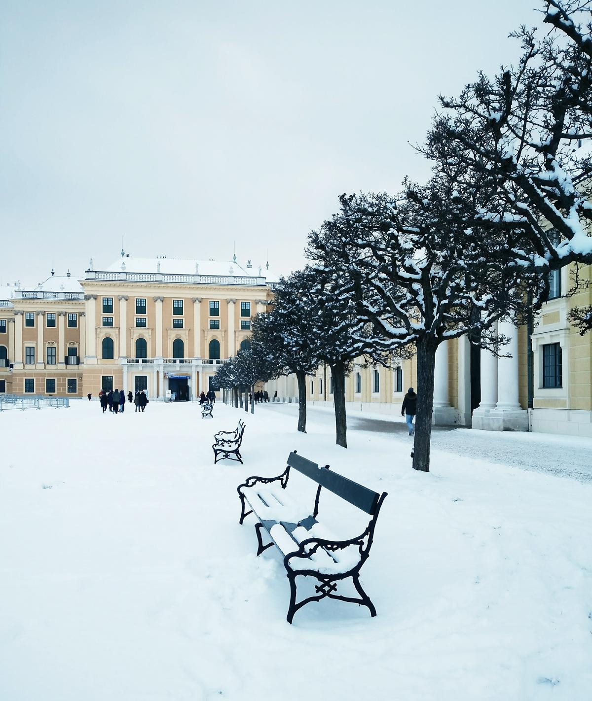 Wien im Winter |Pixi mit Milch