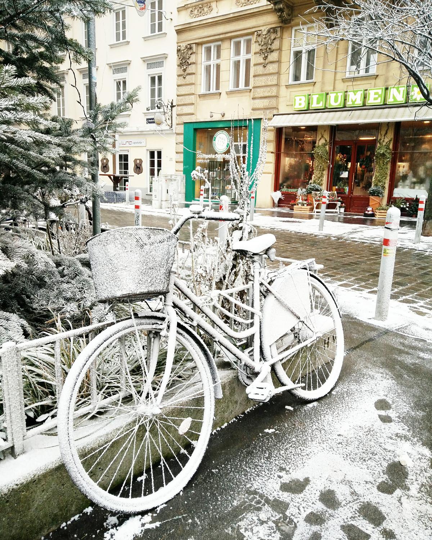 Winterliches Wien |Pixi mit Milch