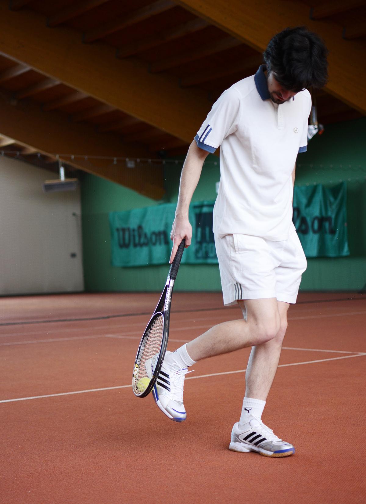 Almesberger: Tennishalle | Pixi mit Milch