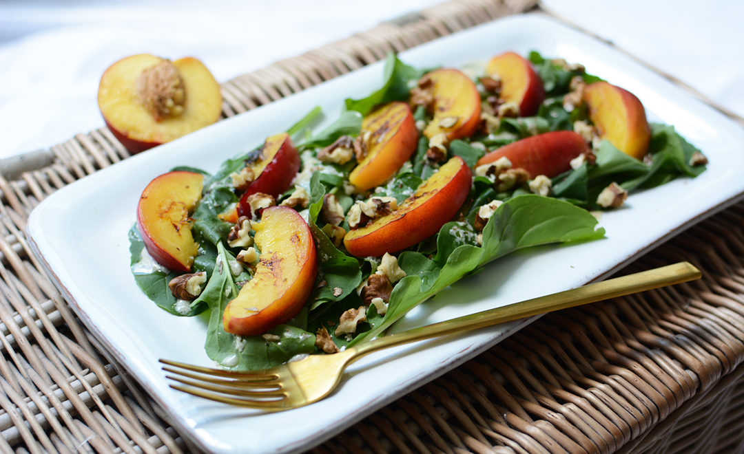 Rucola-Pfirsich-Salat-Teaser_PiximitMilch