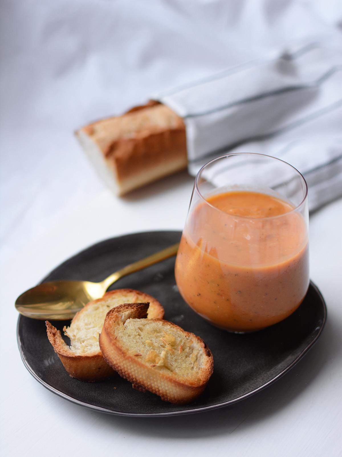Gazpacho | Pixi mit Milch