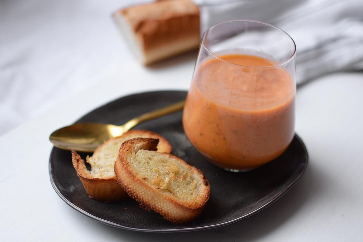 Gazpachosuppe | Pixi mit Milch
