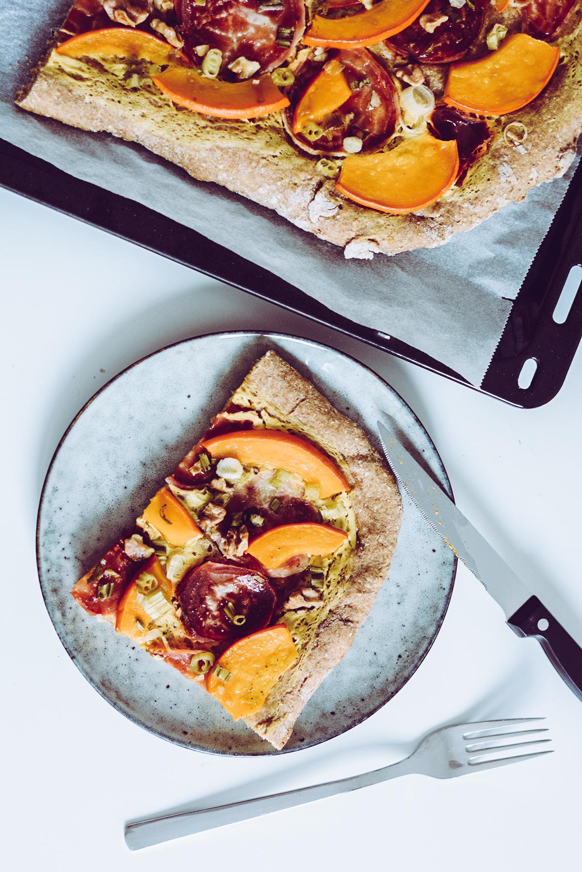Flammkuchen mit Kürbis und Rüben | Pixi mit Milch