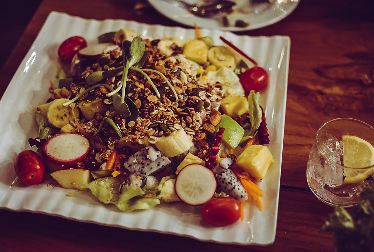 OHKAJHU Fruit Salad | Pixi mit Milch