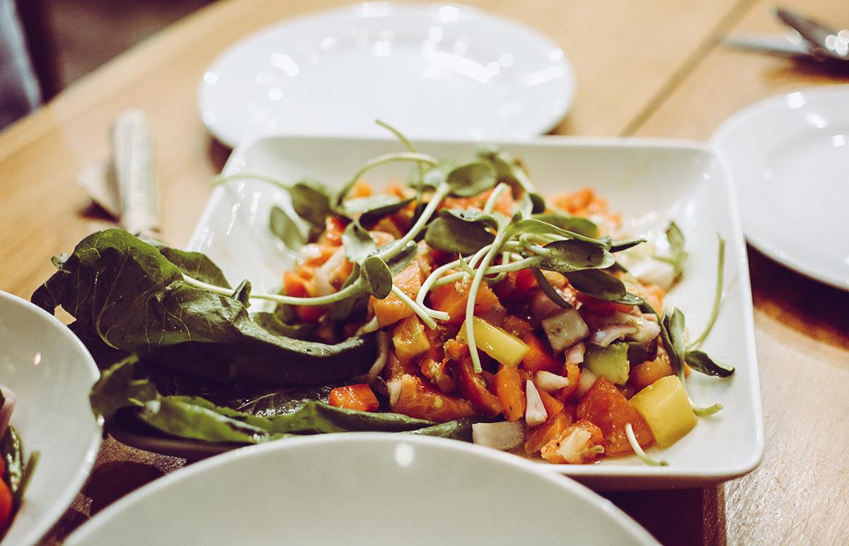 OHKAJHU Salat | Pixi mit Milch