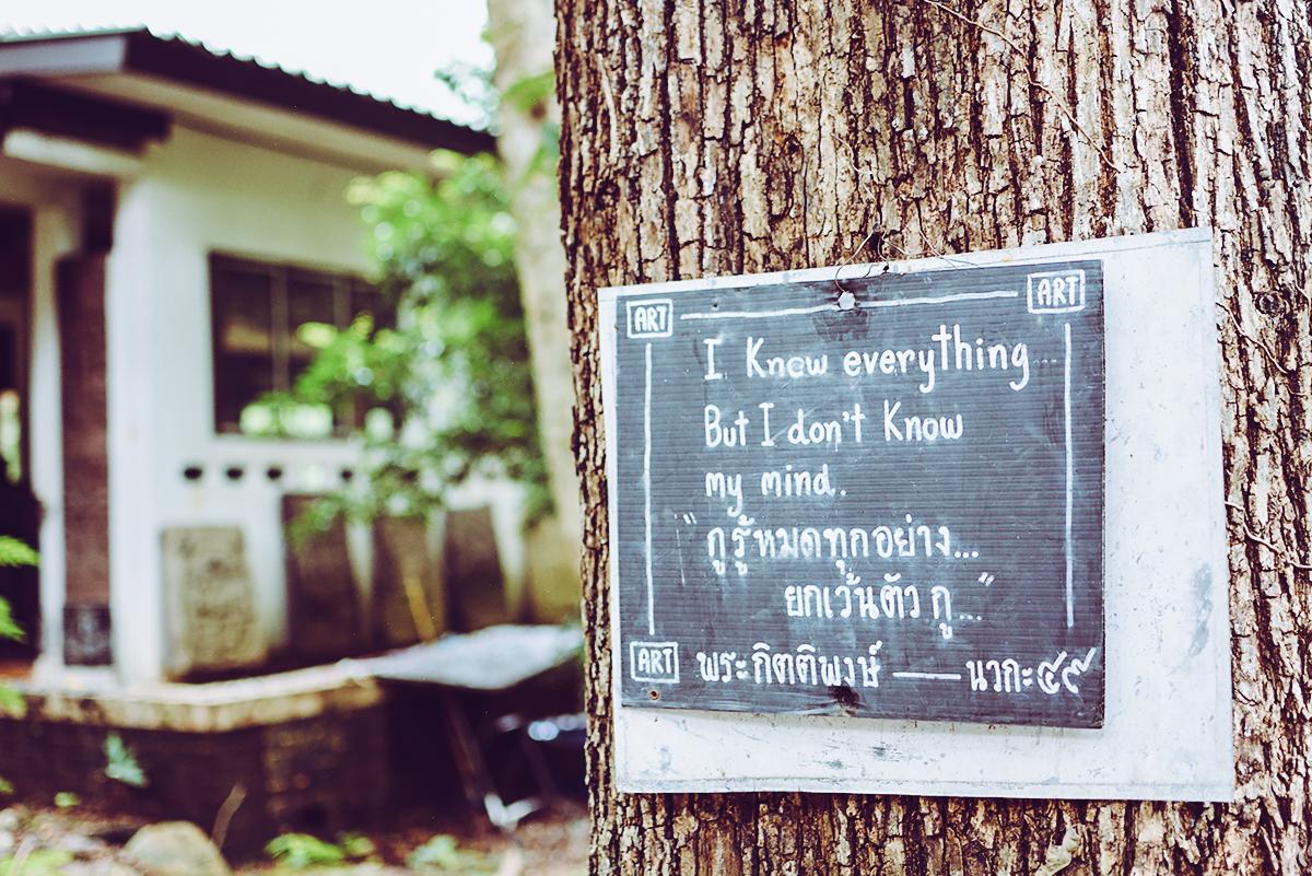 Wat Umong | Pixi mit Milch