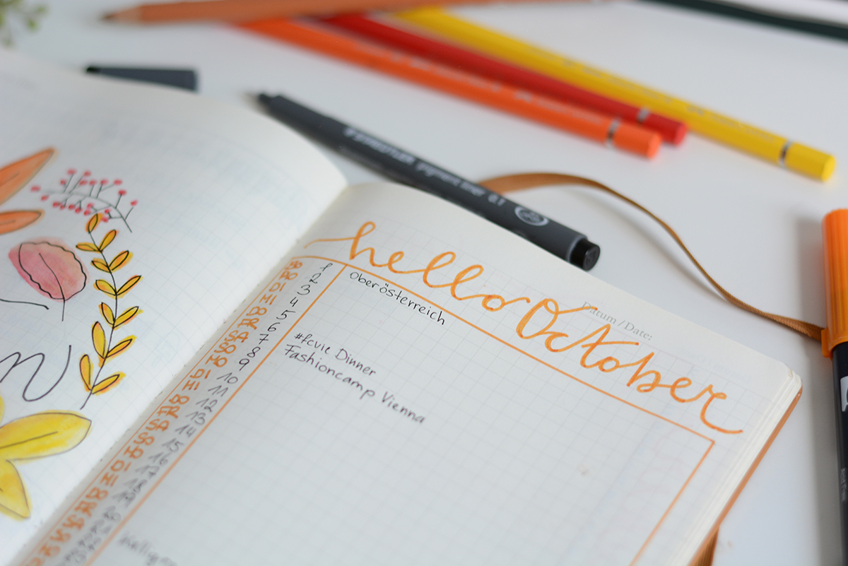 Bullet Journaling Oktober | Pixi mit Milch