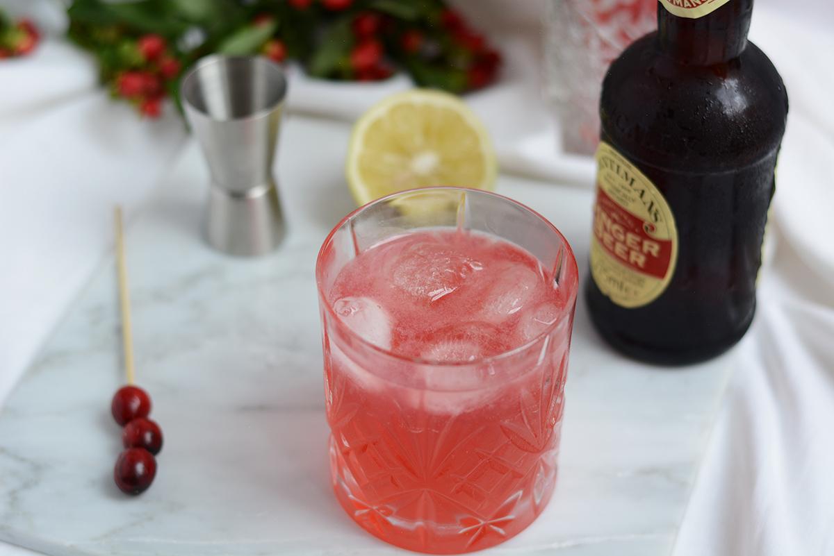 Cocktail: Cranberry-Mule | Pixi mit Milch