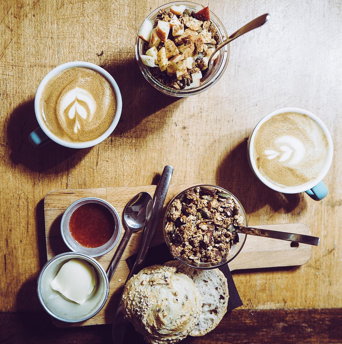 Copenhagen Coffee Lab Frühstück | Pixi mit Milch