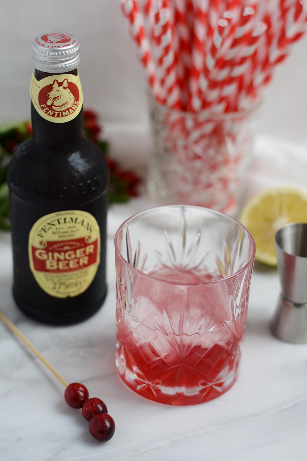 Cranberry-Mule Rezept | Pixi mit Milch