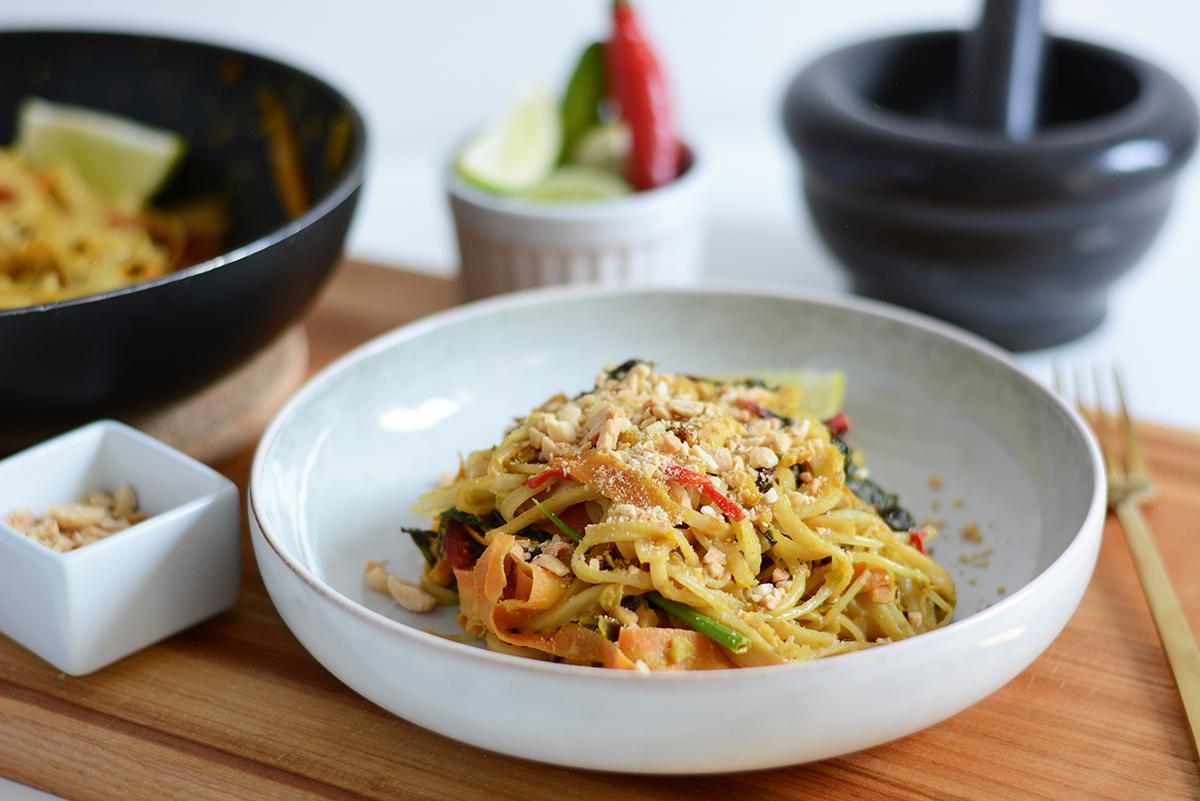 Rezept: Pad Thai vegan | Pixi mit Milch