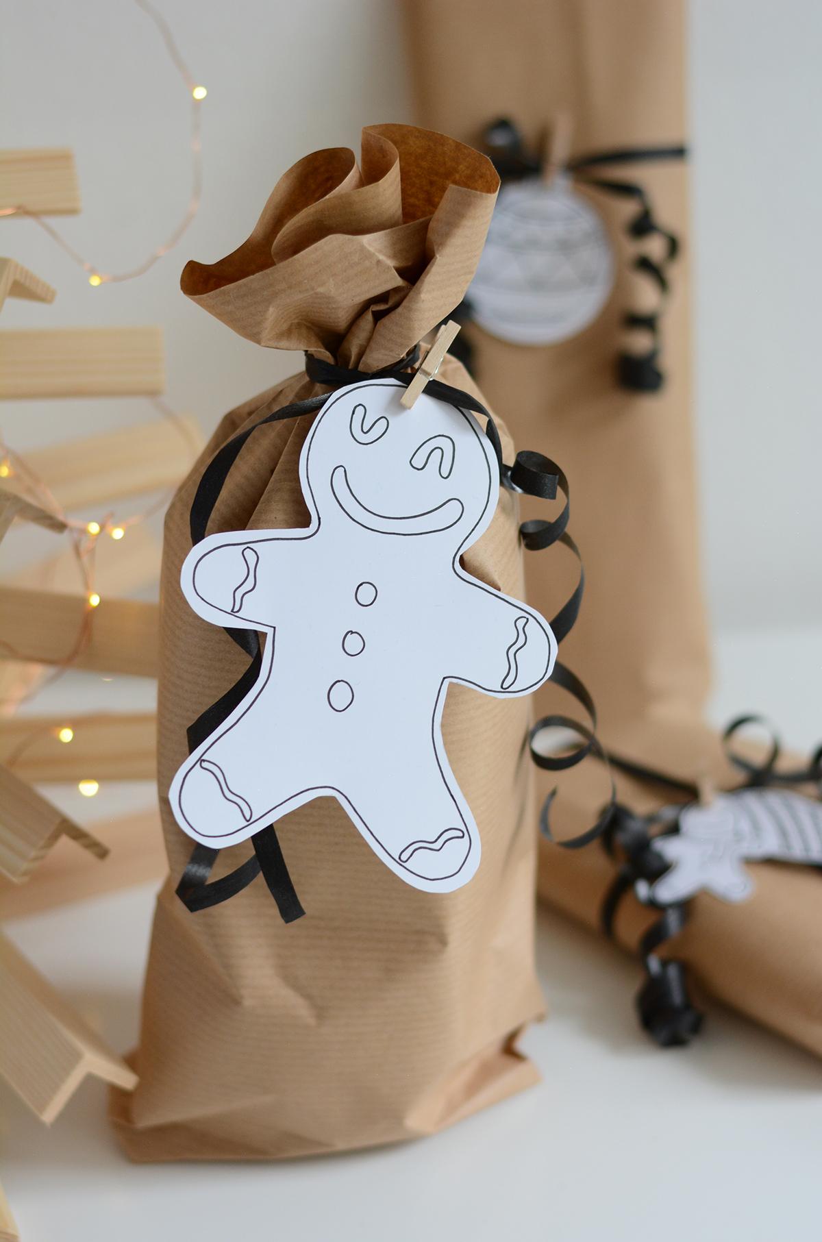 Geschenkanhänger selber machen | Pixi mit Milch