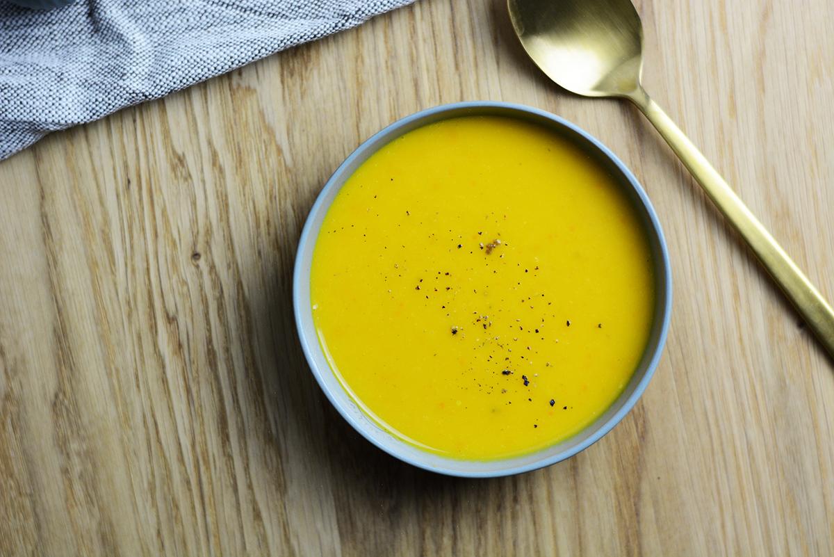 Kürbissuppe | Pixi mit Milch