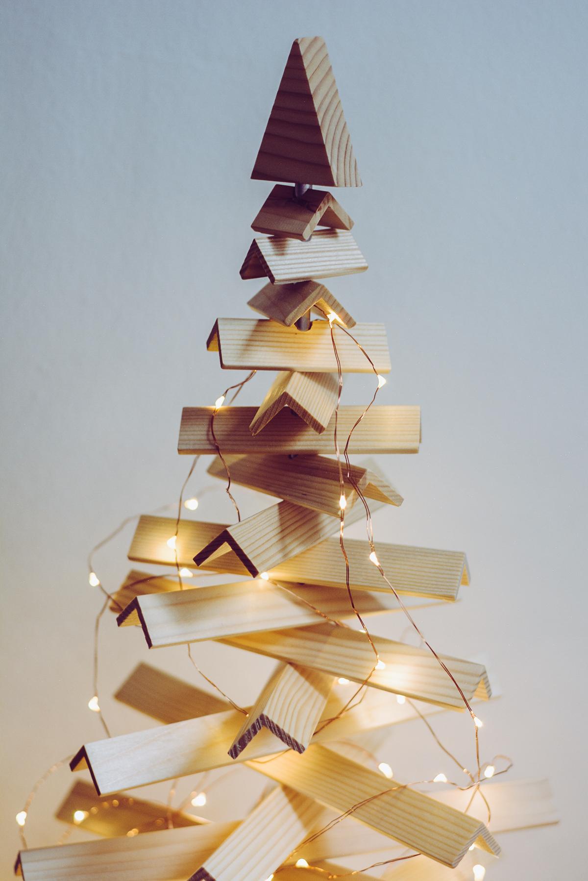 Nachhaltiger Weihnachtsbaum | Pixi mit Milch