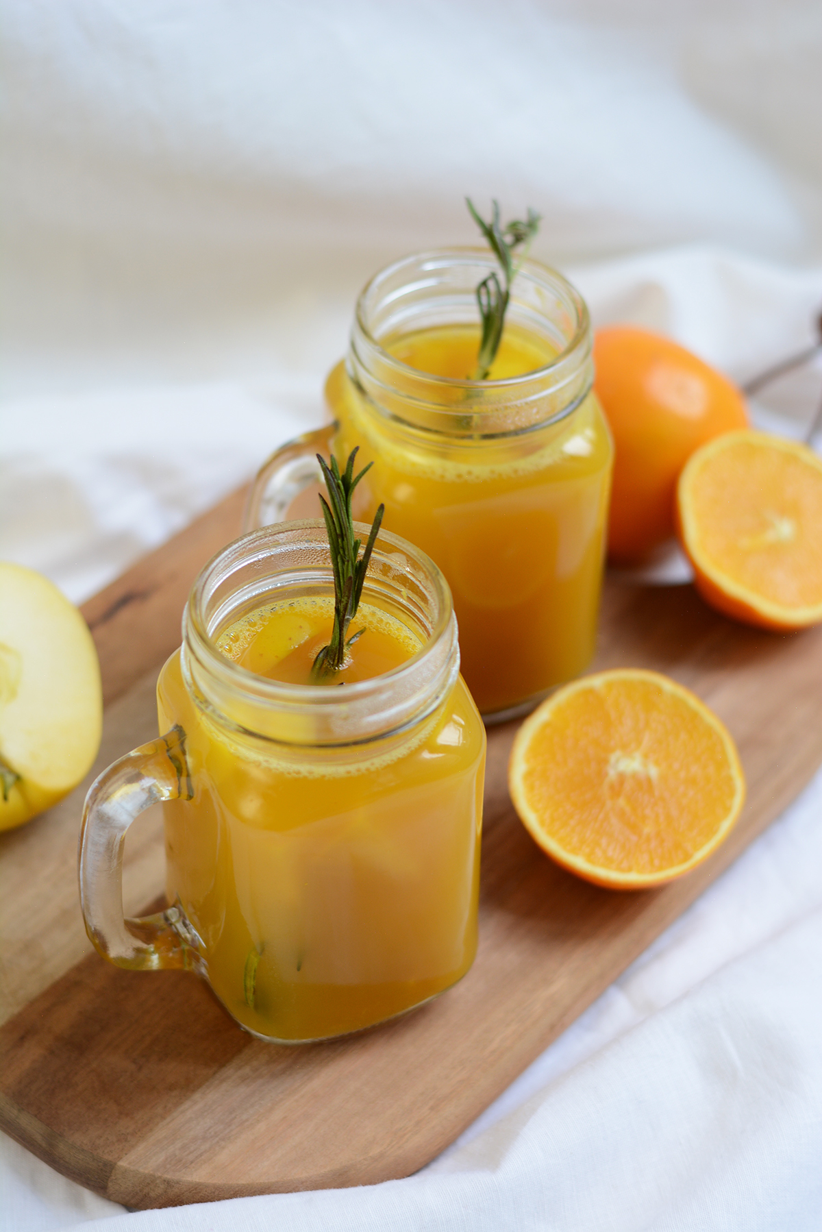 Orangen-Apfel-Punsch Rezept | Pixi mit Milch