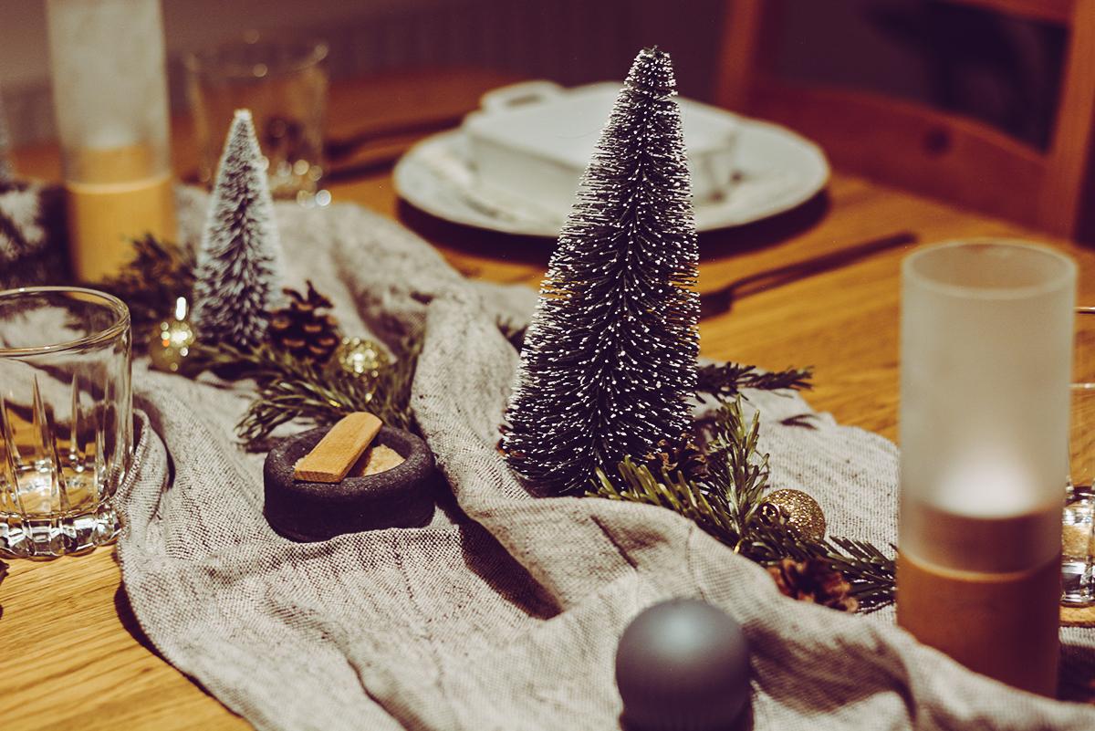 Tischdeko Weihnachten | Pixi mit Milch
