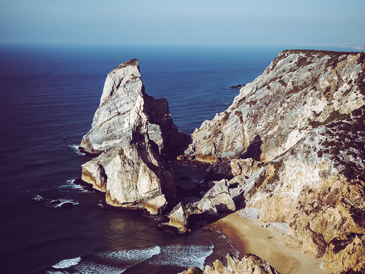 Cabo da Roca Bucht |Pixi mit Milch