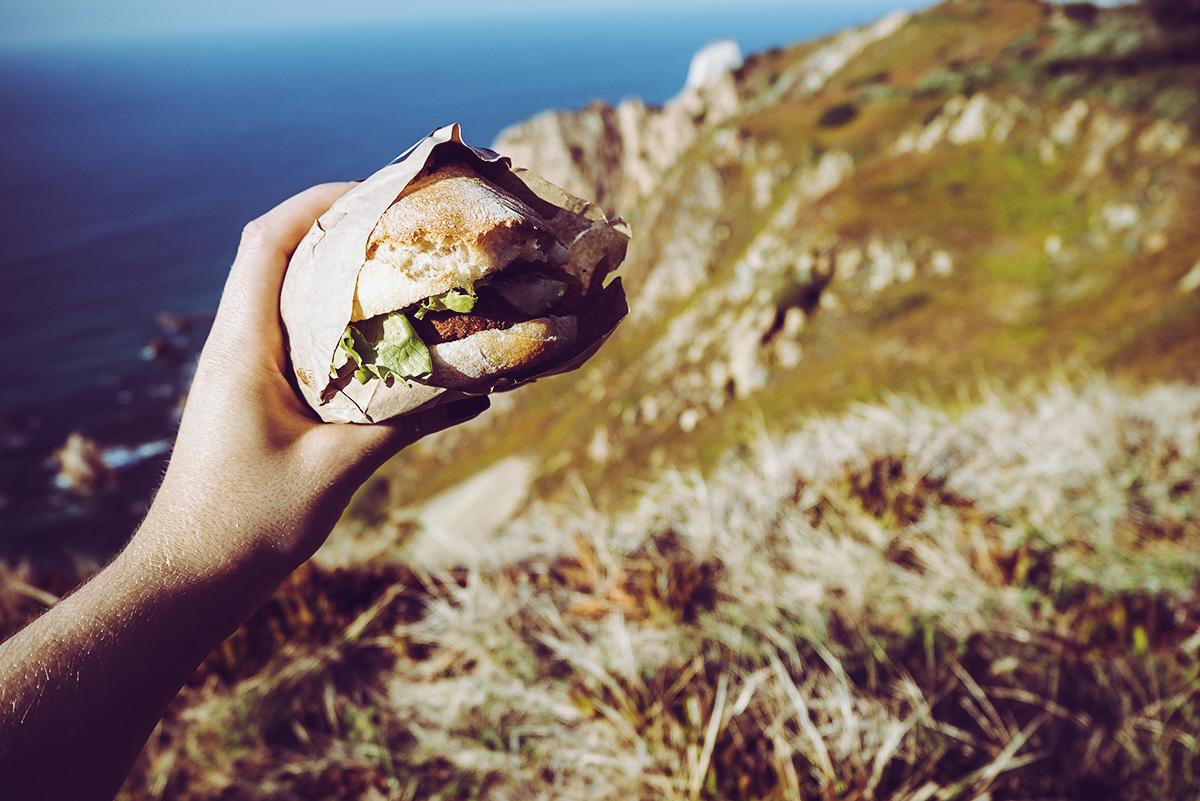 Cabo da Roca Picknick |Pixi mit Milch