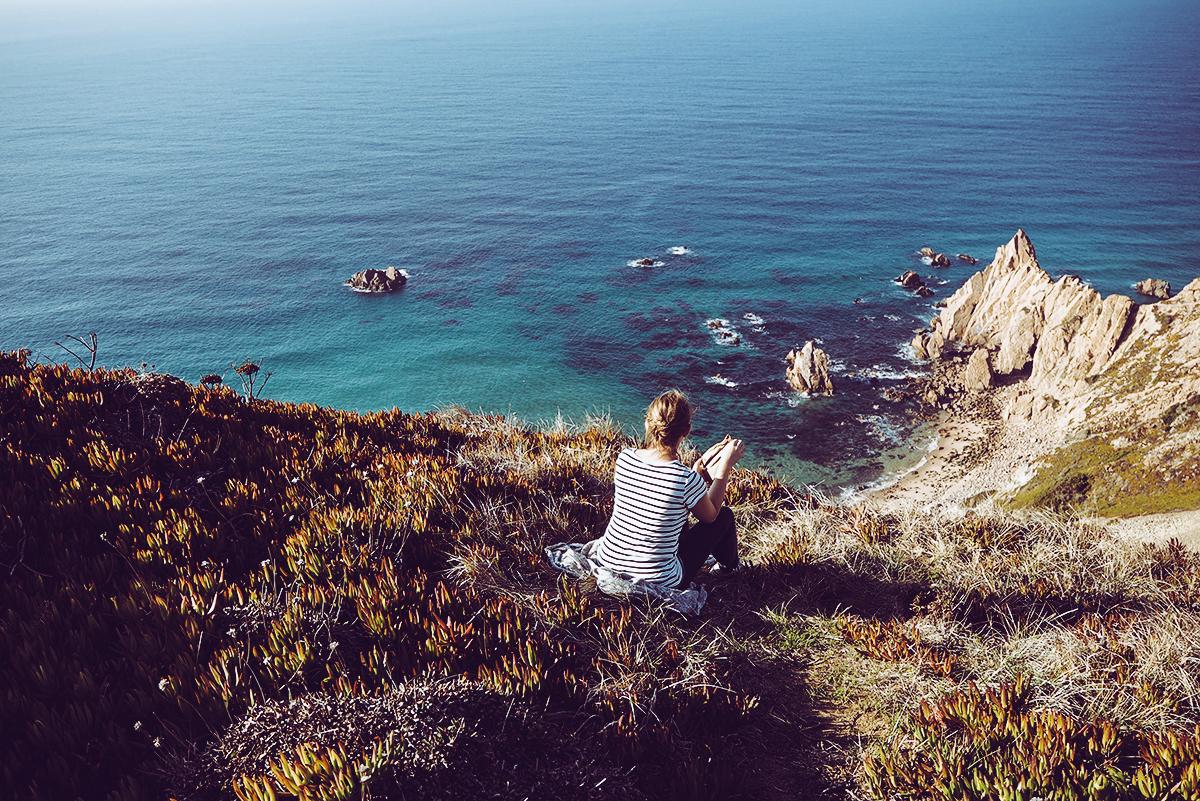 Cabo da Roca Landschaft |Pixi mit Milch