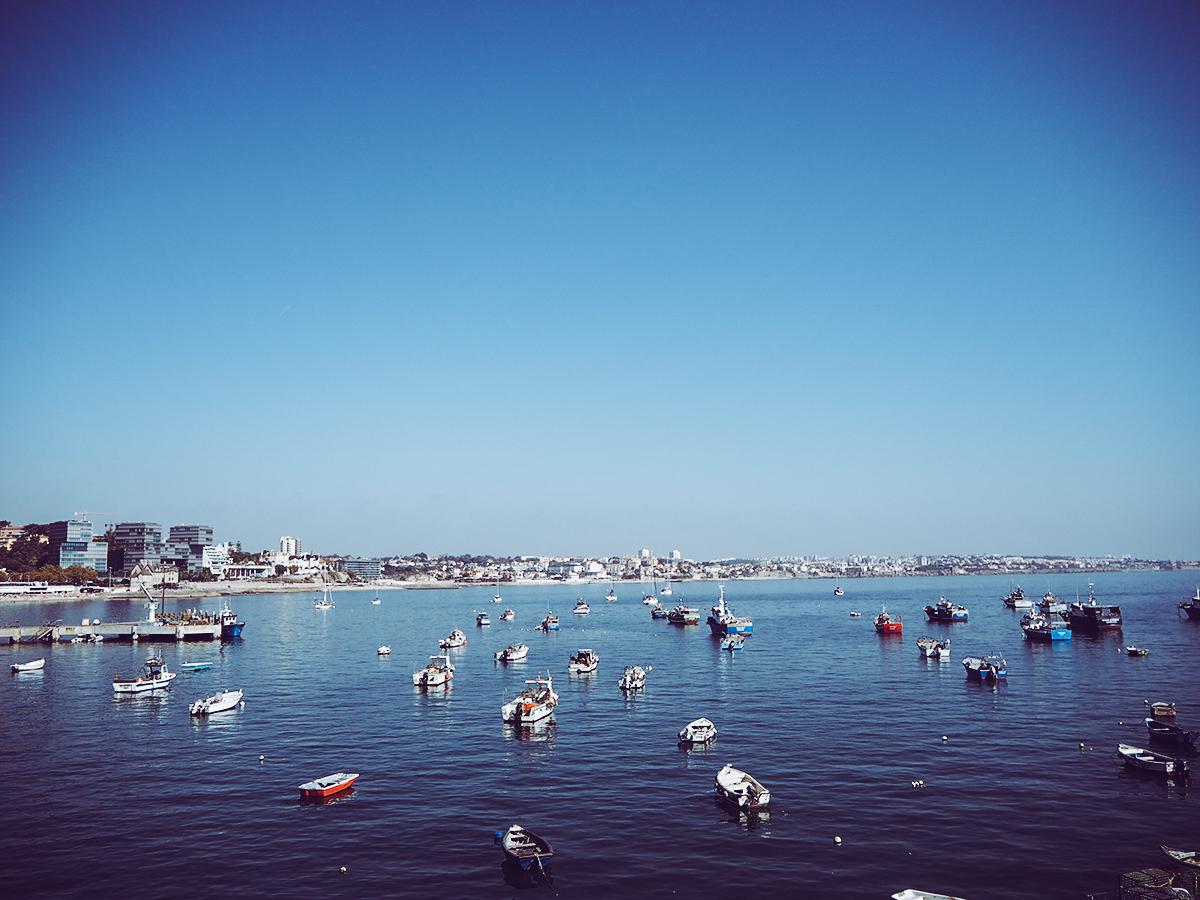 Cascais Portugal Meer |Pixi mit Milch