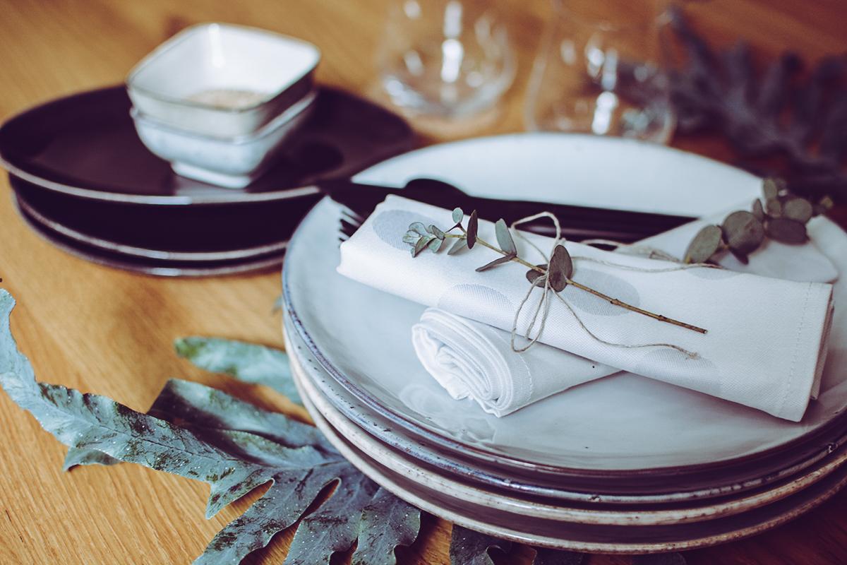 Sommer-Tischdeko mit Broste Copenhagen | Pixi mit Milch