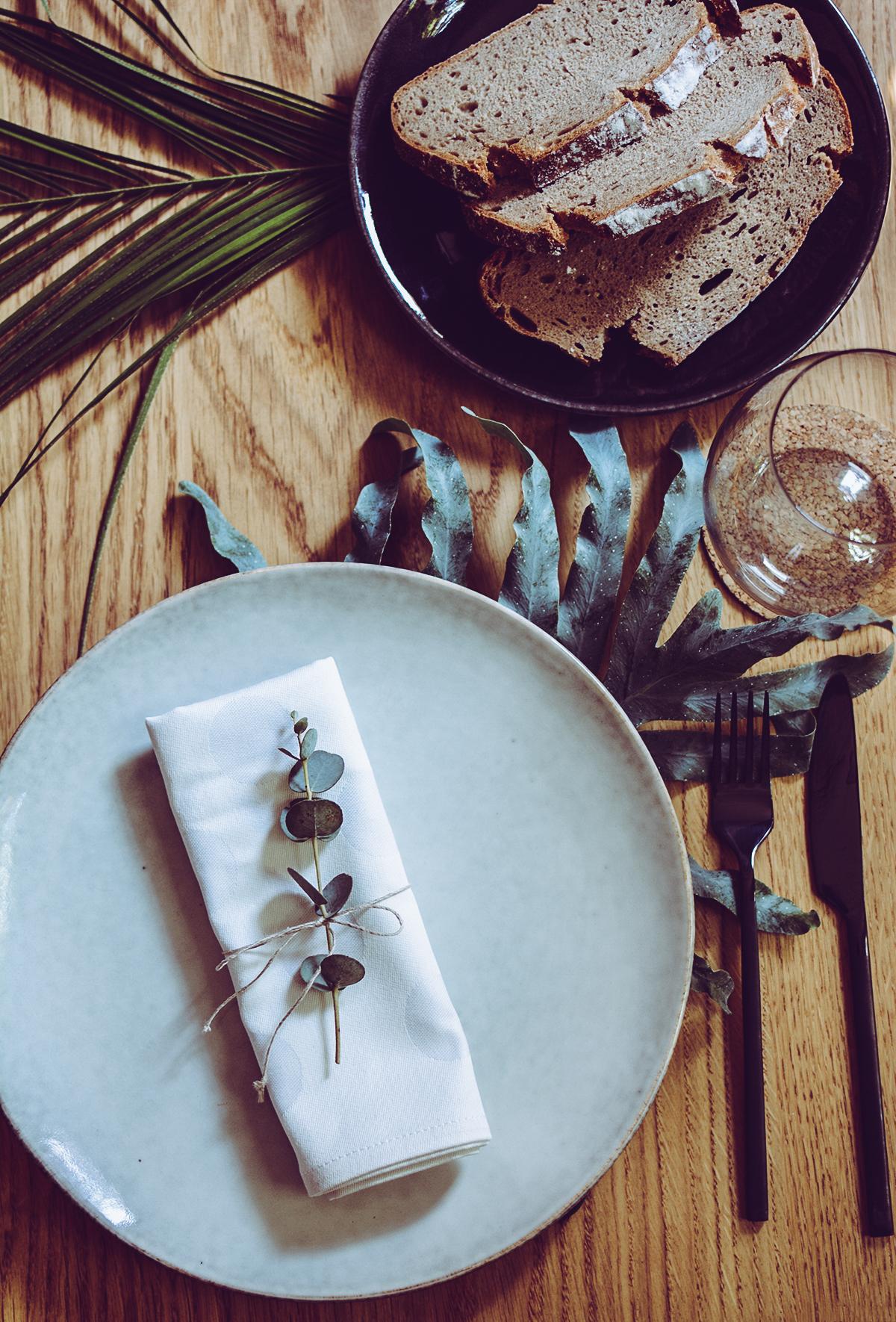 Tischdeko DIY: Tropical | Pixi mit Milch