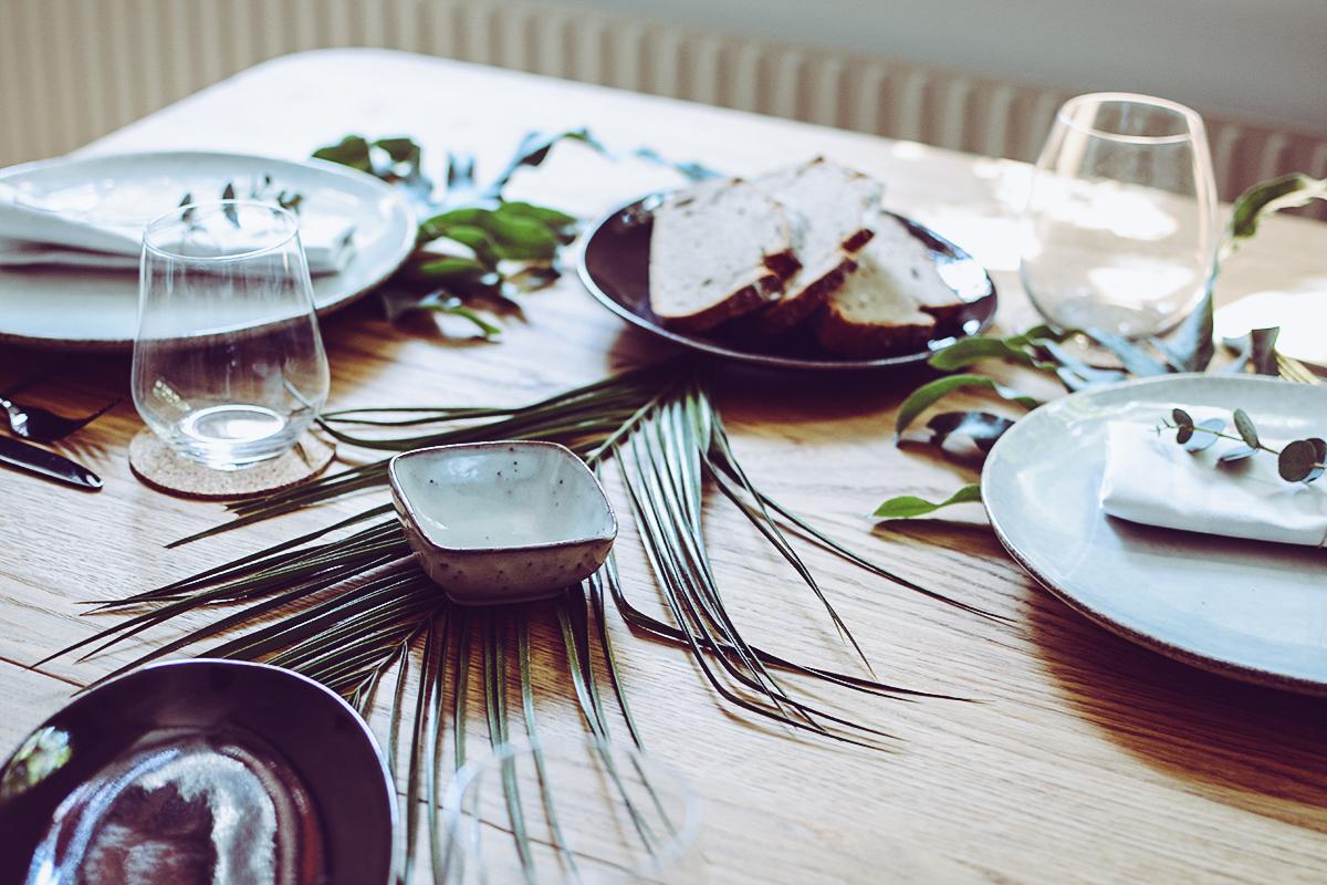Tropical Tischdeko DIY | Pixi mit Milch