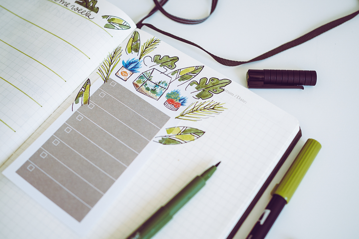 Bullet Journal DIY | Pixi mit Milch