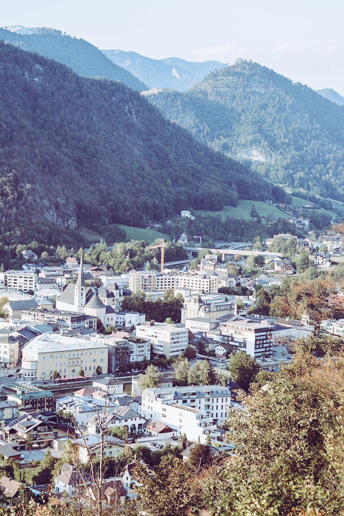 Bad Ischl Ausblick | Pixi mit Milch