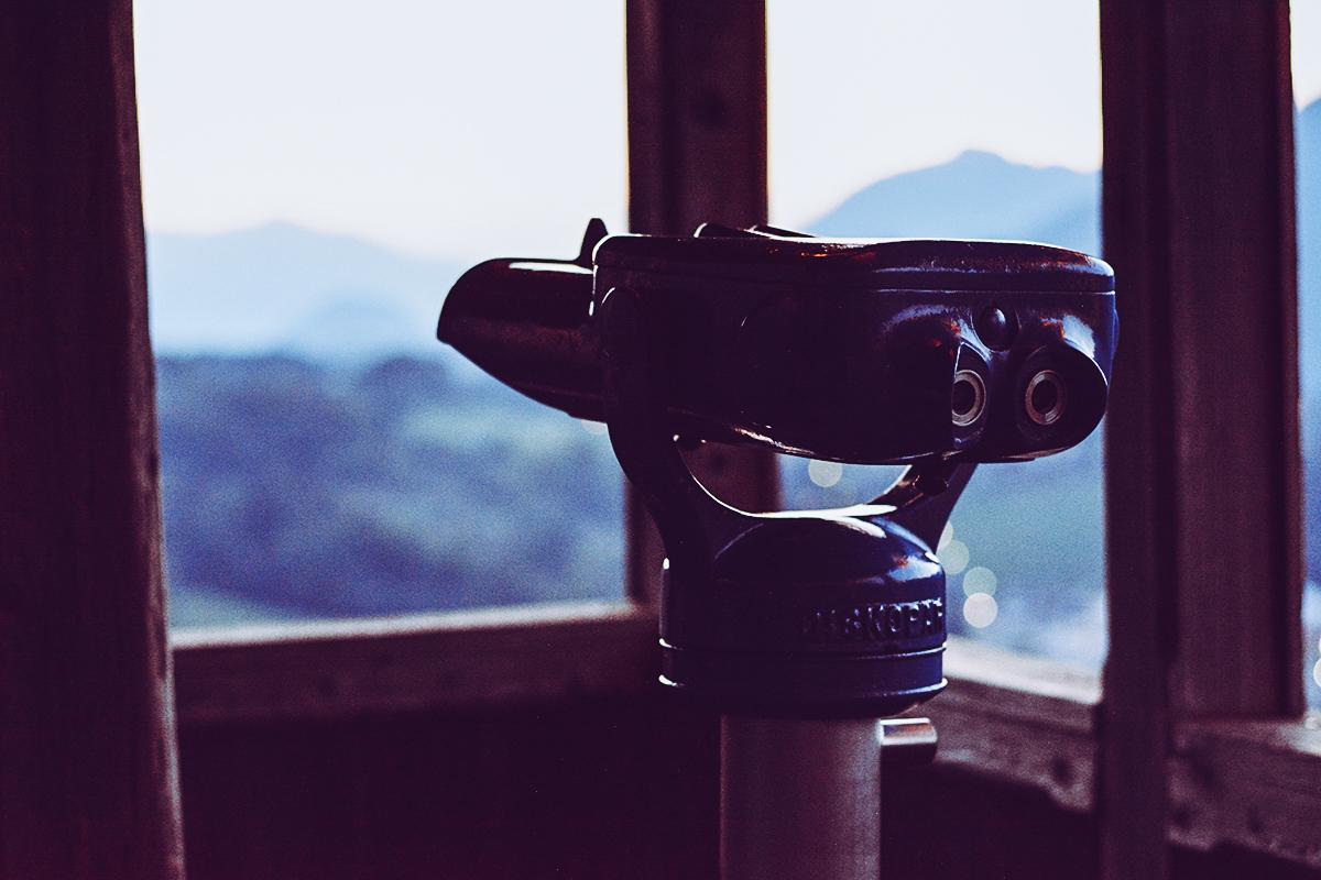 Siriuskogl Turm Ausblick | Pixi mit Milch
