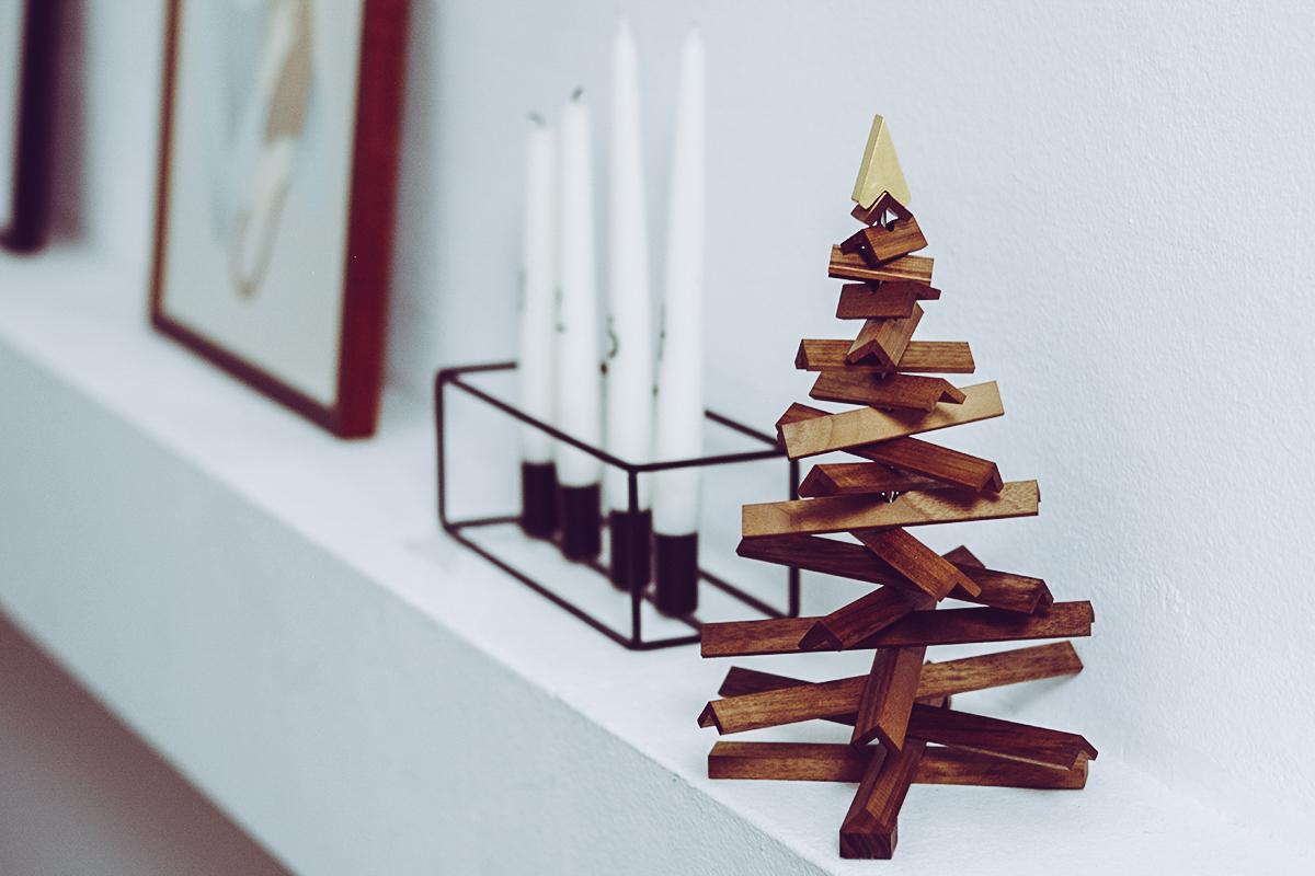 Rudolf: Design.Wien Deko-Baum | Pixi mit Milch