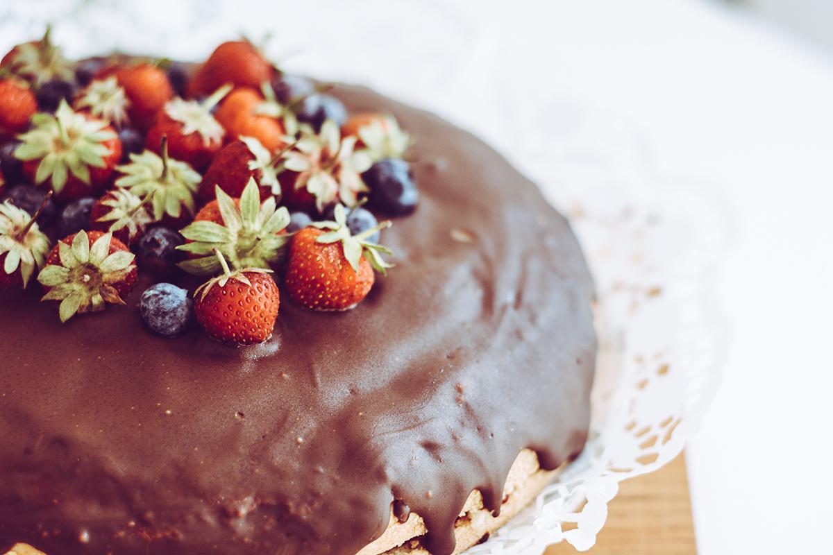 Erdbeer-Zitronentorte: Rezept | Pixi mit Milch